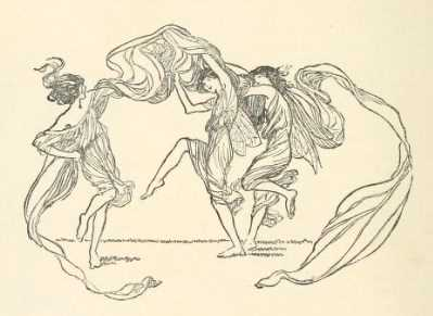 Dancing girls by Claude A. Shepperson
