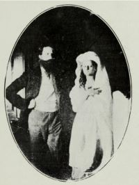 William Crookes with Katie King [Public Domain]