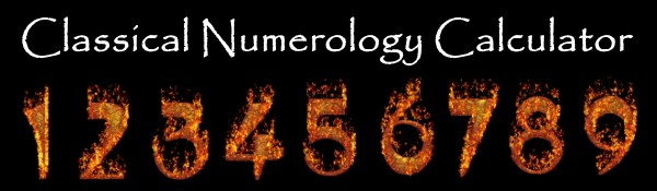 Classical Numerology Name Calculator