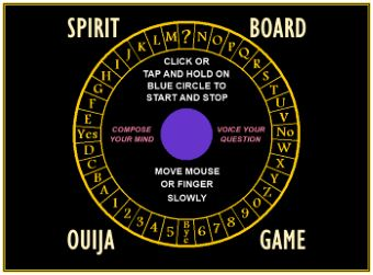 Spirit Board Game