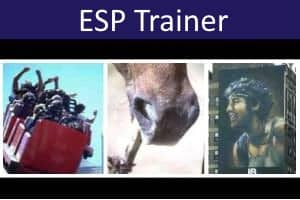 ESP Test and Trainer (Telepathy and Clairvoyance)