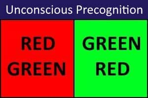 Unconscious Precognition Test