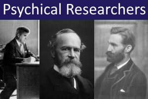 Notable parapsychologists and psychical researchers