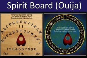 Spirit Board (Ouija) Game